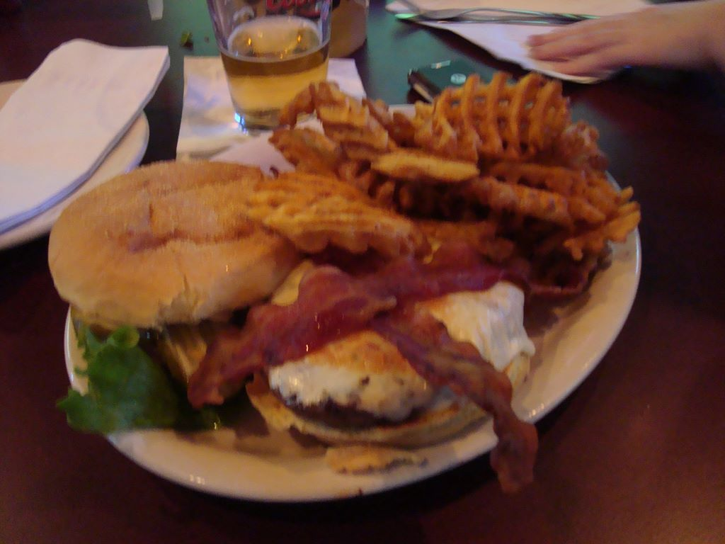 Bacon n Pepper Jack Hall Of Fame Burger