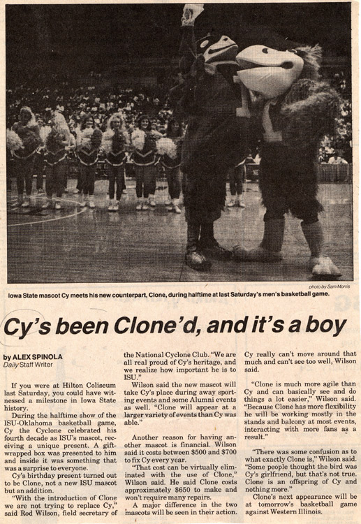 Clone in the News
