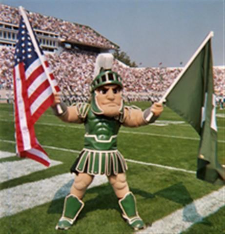 Sparty in the USA