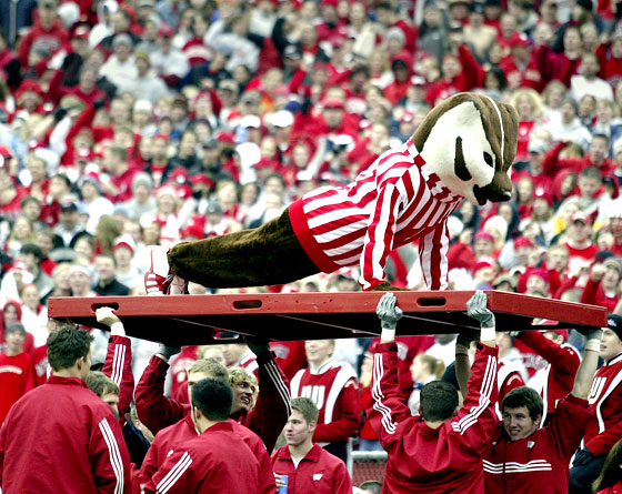 Mascot Monday: Bucky Badger 2011