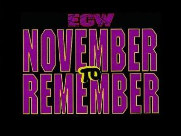 November_To_Remember ecw logo