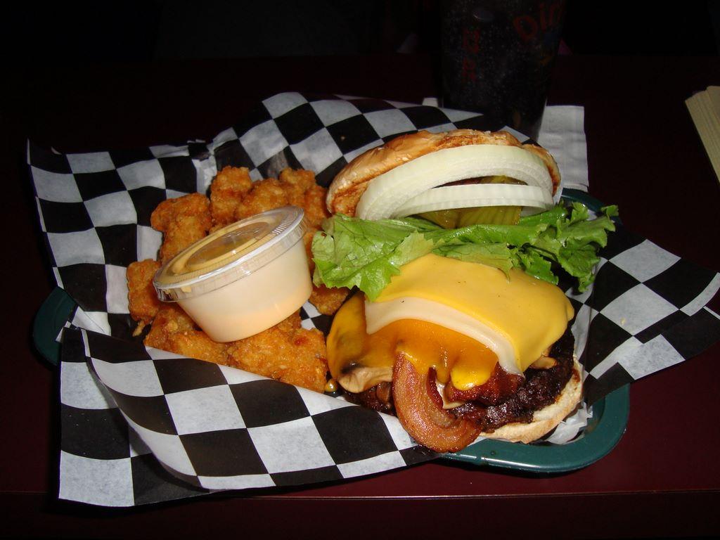 Dirk's Bad Boy Burger