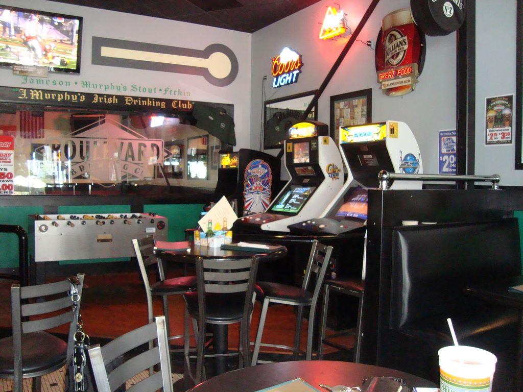 J. Murphy's games bar