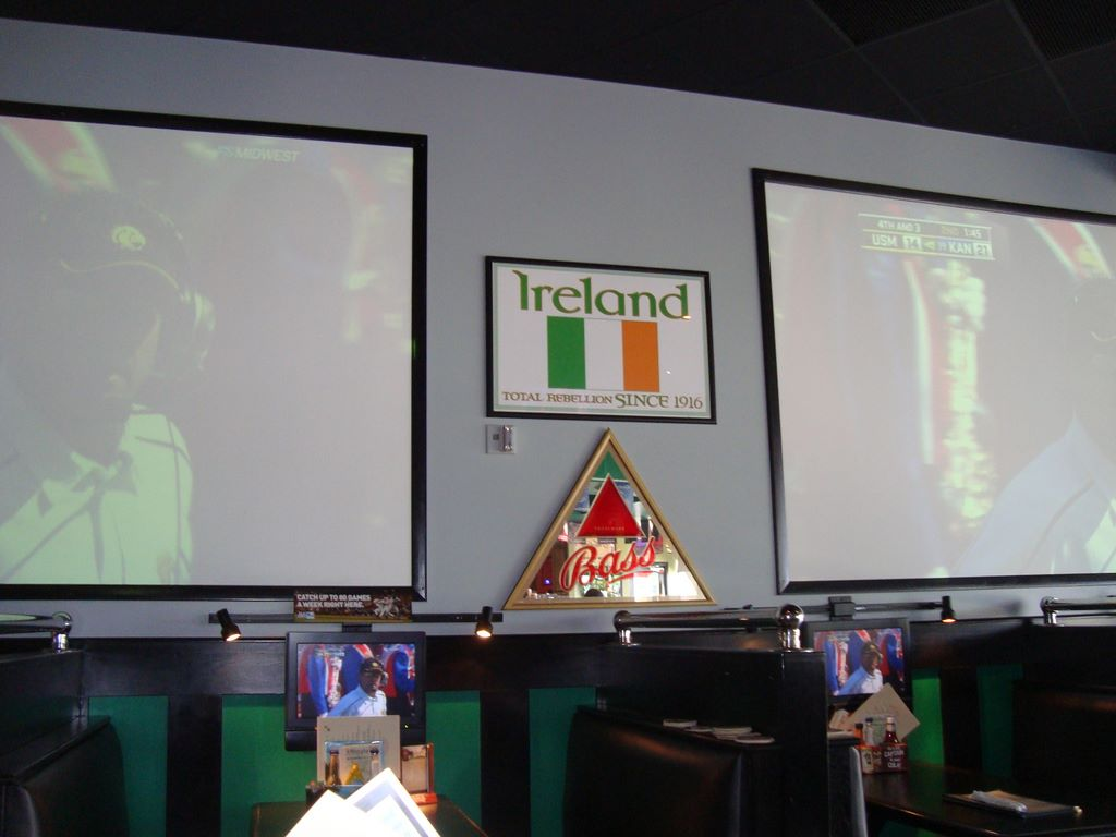 J. Murphy's big screens