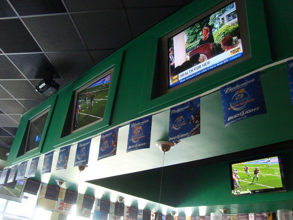 J. Murphy's bar tv